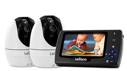 33% off Ovia PTZ Baby Video Monitor (2 Camera Set) + Free Shipping