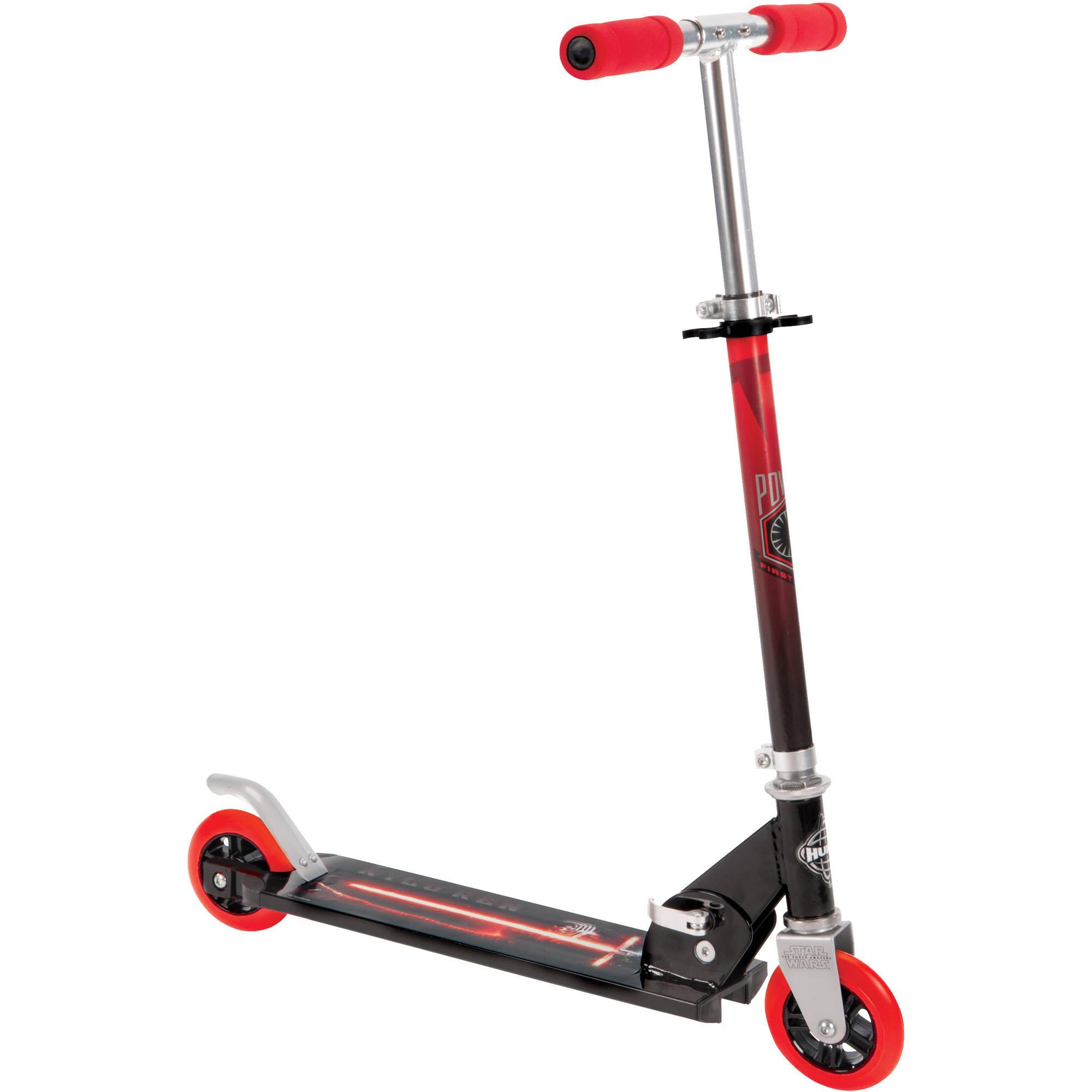 Get a Savings of $13 on Huffy Boys' Star Wars 2-Wheel Inline Scooter