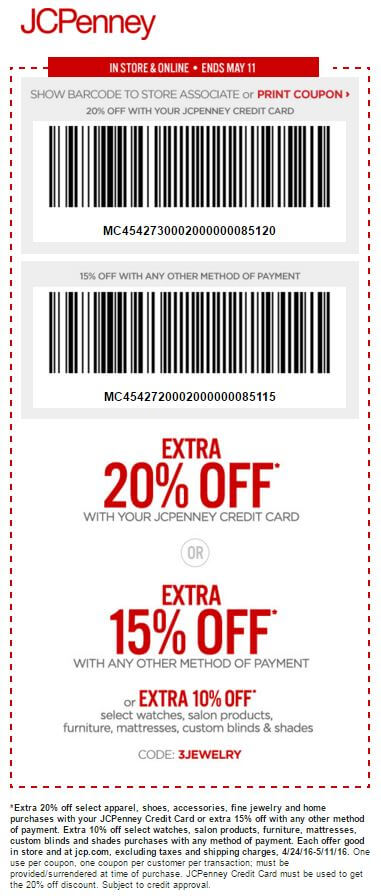 Printable: Extra 15% off Most Orders
