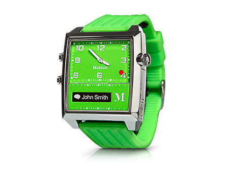 $150 off Martian G2G Voice Command Smart Watch Lime + Free Shipping