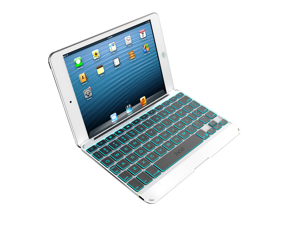 Zagg Backlit Cover Keyboard iPad Mini for $10 + Free Shipping