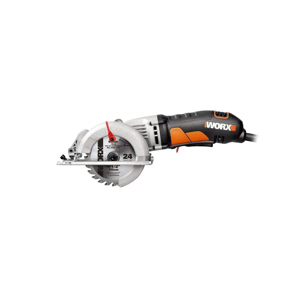 4 Amp 4-1/2 in. Corded WorxSaw