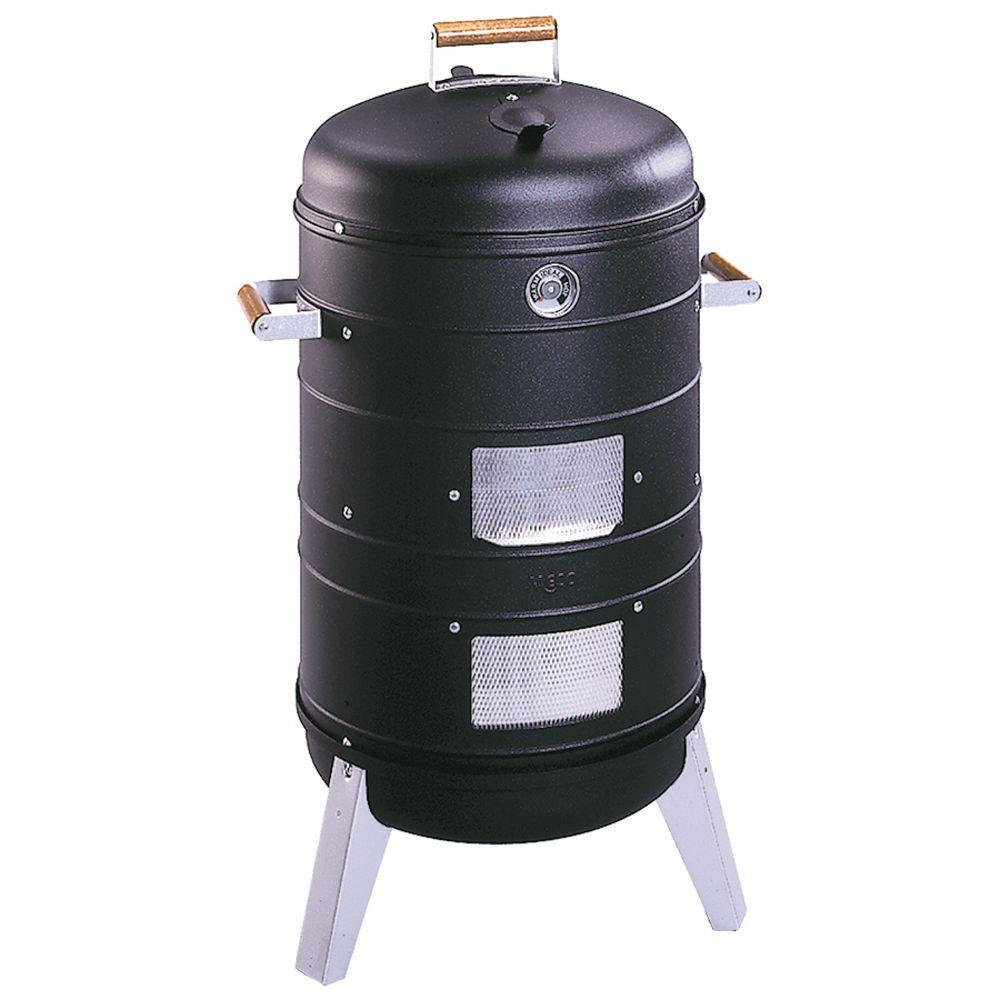 Meco Southern Country 2-in-1 Charcoal Water Smoker Grill
