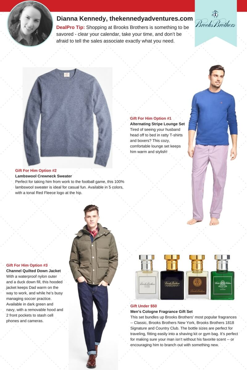 Brooks Brothers Gift Guide