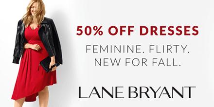 Lane Bryant 50% Off Dresses
