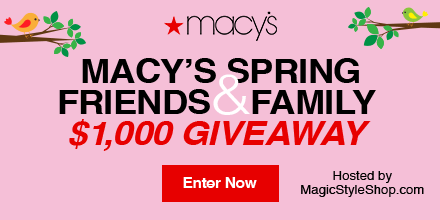 Macy's $1,000 Gift Card Giveaway