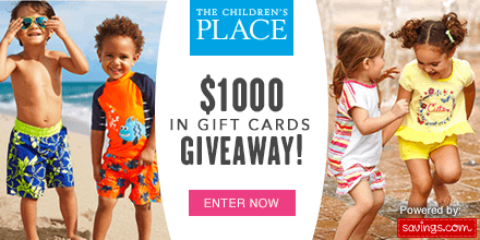 The Children's Place Giveaway image